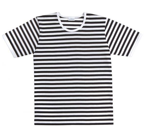 61da5690d Marimekko Tasaraita Lyhythiha t-shirt black white - scandinavian ...