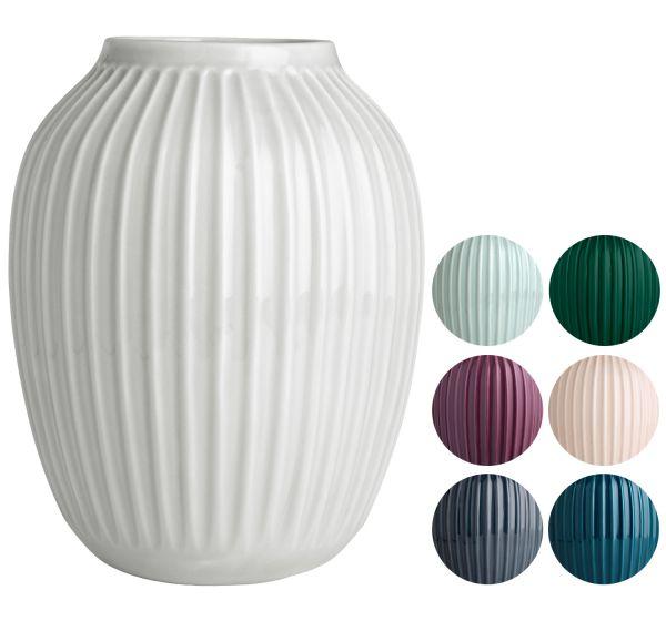 k hler design hammersh i vase height 25 cm. Black Bedroom Furniture Sets. Home Design Ideas