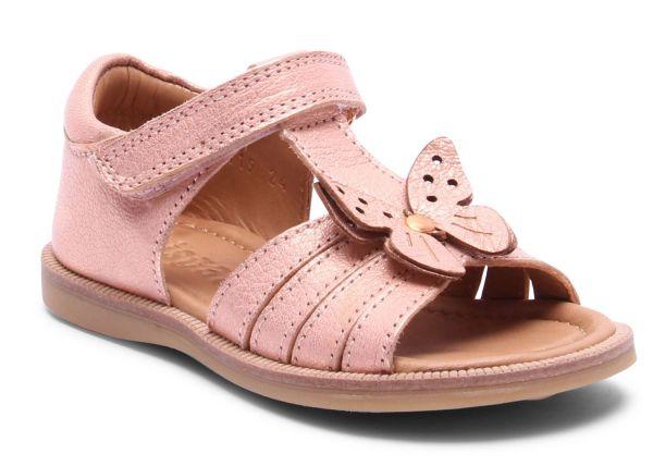 f6e9e3f5326c Bisgaard sandal w. velcro   decoration rosa gold - scandinavian ...