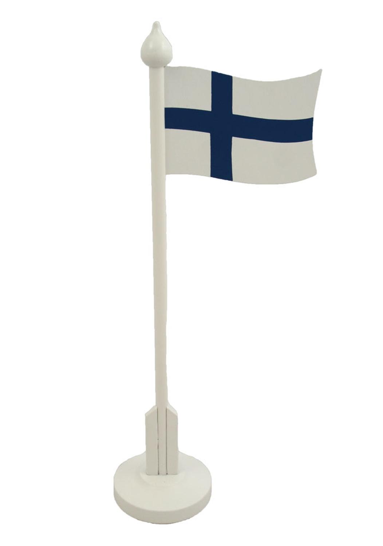 scandinavian lifestyle table flag of finland scandinavian lifestyle. Black Bedroom Furniture Sets. Home Design Ideas