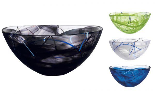 Kosta Boda Contrast Bowl 35 Cm Scandinavian Lifestyle