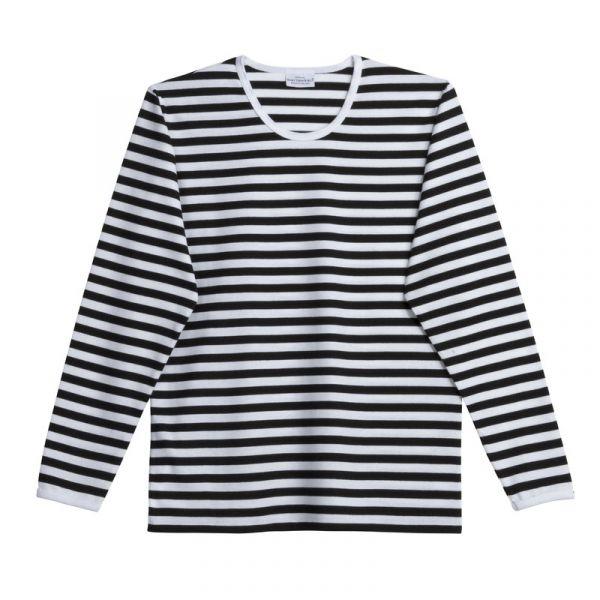 975f69162 Marimekko Tasaraita Pitkähiha shirt black white - scandinavian-lifestyle