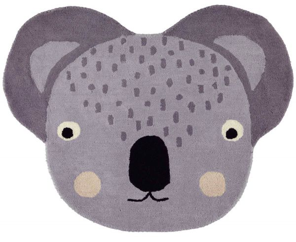 Oyoy Mini Kids Room Carpet Koala ø 95 Cm Oyoy Brands Scandinavian Lifestyle Com